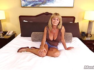 Huge Soul Unpaid Gilf enjoys Hard Anal POV