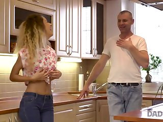DADDY4K. Curly-haired babe and mother I´d get a bang to fuck man try age-old and..