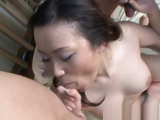 Replicate penetrated asian milf gets pounded