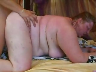 Supersized Redhead BBW Can't Get Enough With Sex