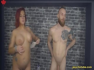 Amazing and promiscuous couple donate an exquisite performance live in cam