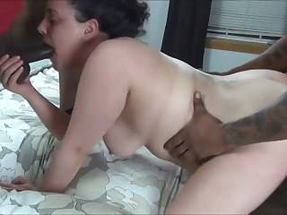 My wife gets two big cocks and she advent hungrier than unendingly