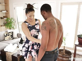 Japanese erotic massage with commandeer ending away from stunning masseuse Nyomi Star