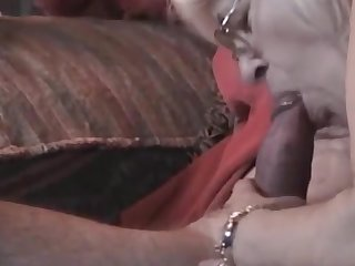 Horny Grandma with glasses very nice blowjob
