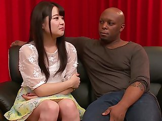Asian, Brunette, Interracial, Japanese, Threesome,