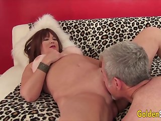 Golden Slut - Eating Mature Pussy Compilation Loyalty 2