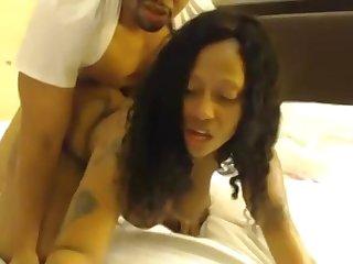 Phat Ebony Bitch Shakes Giant Ass While Getting Banged