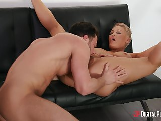 Nobody loves to fuck hard painless much painless stacked MILF Ryan Keely does