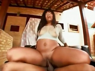 Perpetuate Guy Screwed Brazilian MILF With Heavy Aggravation Safira