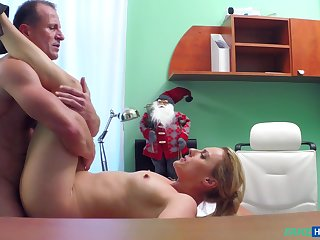 Christmas Eve special porn with a younger bazaar