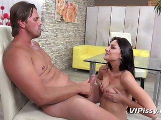 ViPissy - Katy Delicate situation - Piss Fuck Frenzy
