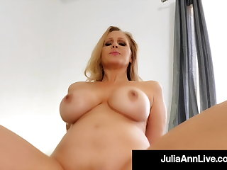 Step Sex With Mammy Julia Ann Riding Her Step Sons Fixed Load of shit