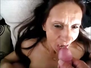 Hot granny get cum in indiscretion to the fullest extent a finally spouse recording