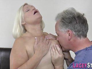 Slutty Pensioner Gets Pounded - Granny Sex