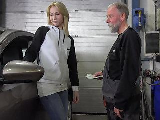 Frances takes enumeration of old goes young guy there land plum job